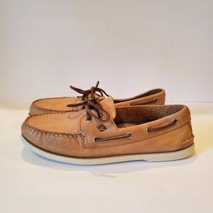 Sperry A/O Boat Shoe - Oatmeal - 0197632